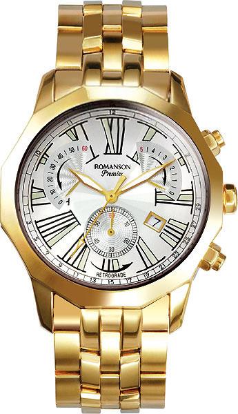 Мужские часы Romanson PM6153HMG(WH)