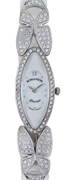 Женские часы Romanson PM7223QLW(WH) romanson pm 6153h mw wh