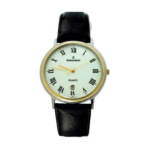 Мужские часы Romanson TL0162SMC(WH) romanson rm 6a31c lw wh