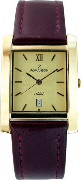 Мужские часы Romanson TL0226SXG(GD) romanson часы romanson rm2140qlg gd коллекция lady dressy