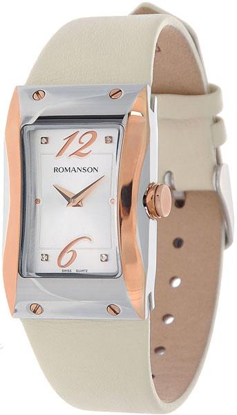 Женские часы Romanson RL0359LJ(WH) romanson rl 9206 lj wh