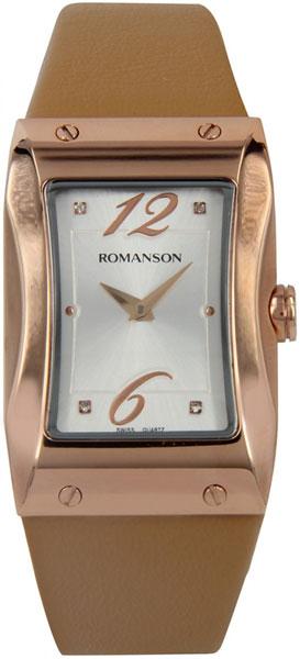 лучшая цена Женские часы Romanson RL0359LR(WH)