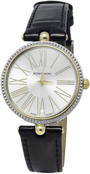 Женские часы Romanson RL0362LC(WH) romanson rn 0356 lc wh