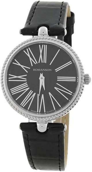 Женские часы Romanson RL0362LW(BK) romanson rl 0362 lj wh