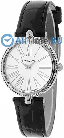 Женские часы Romanson RL0362LW(WH) romanson женские наручные часы romanson rl 0362 lw bk