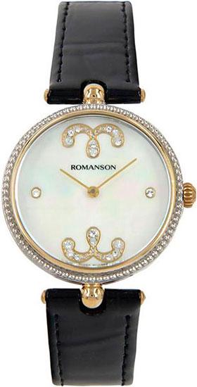 Женские часы Romanson RL0363LC(WH) romanson rn 0356 lc wh