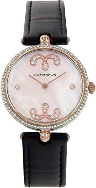Женские часы Romanson RL0363LJ(PINK) romanson rl 9206 lj wh