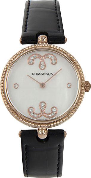 Женские часы Romanson RL0363LR(WH) romanson rl 0363 lw wh