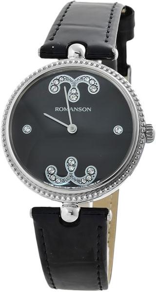 Женские часы Romanson RL0363LW(BK) romanson rl 0363 lw wh