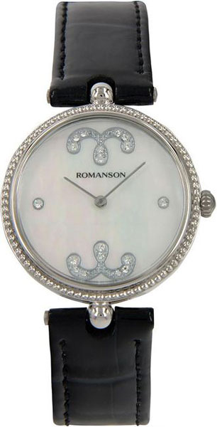 Женские часы Romanson RL0363LW(WH) romanson rl 6a18q lw wh wh