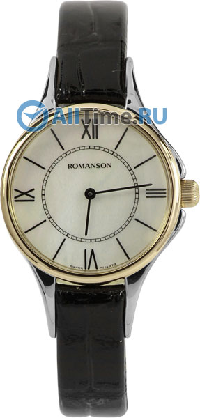 Женские часы Romanson RL0364LC(WH) romanson rn 0356 lc wh