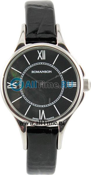 Женские часы Romanson RL0364LW(BK) romanson rl 0364 lw wh