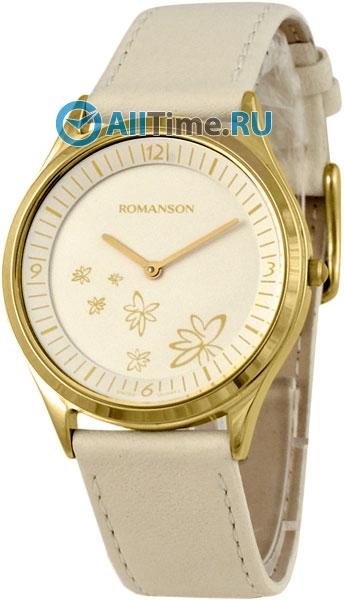 Женские часы Romanson RL0367UUG(WH) romanson tm 9248 mj wh