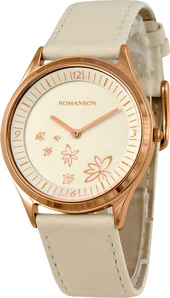 Женские часы Romanson RL0367UUR(WH) цена 2017