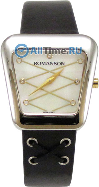 Женские часы Romanson RL0369LC(WH) romanson rn 0356 lc wh