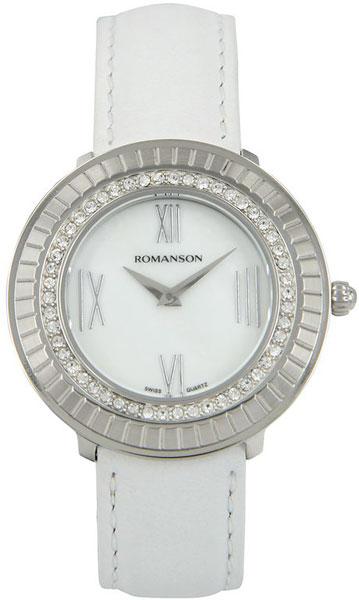 Женские часы Romanson RL0385TLW(WH) romanson часы romanson rm5113qlc wh коллекция giselle