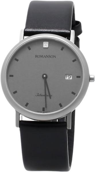 Мужские часы Romanson UL0576SMW(GR) romanson часы romanson ul0576smw gr коллекция titanium