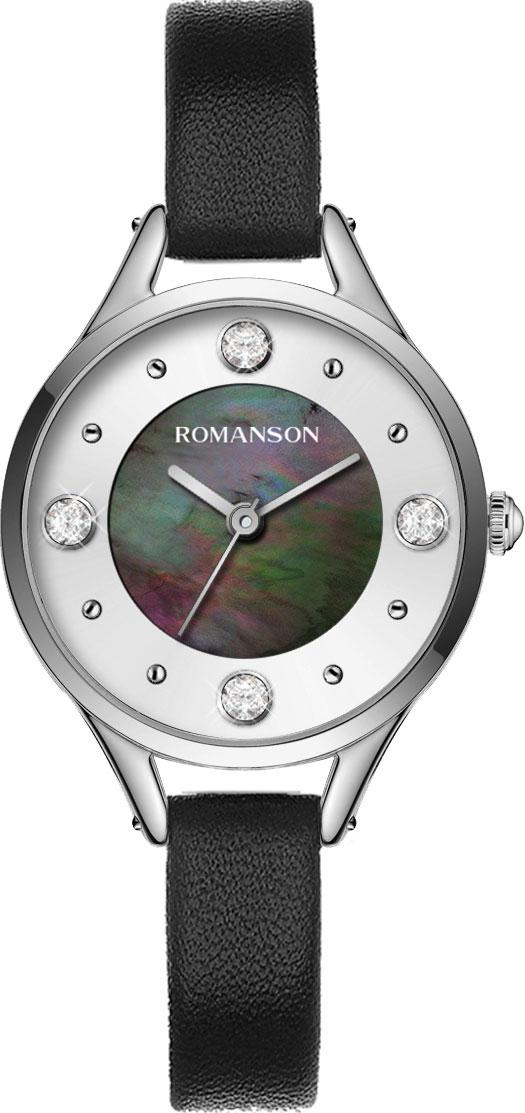 Женские часы Romanson RL0B04LLW(BK) цена и фото