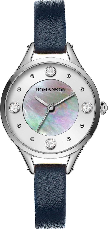цена Женские часы Romanson RL0B04LLW(WH) онлайн в 2017 году
