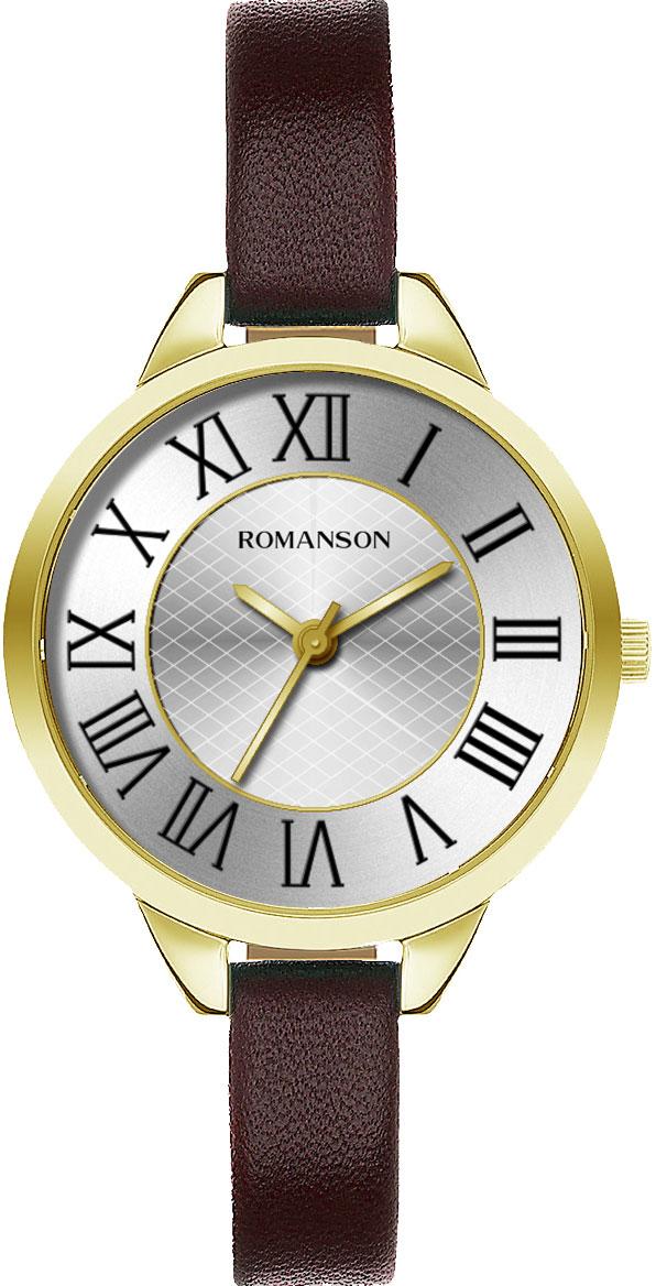 цена Женские часы Romanson RL0B05LLG(WH) онлайн в 2017 году