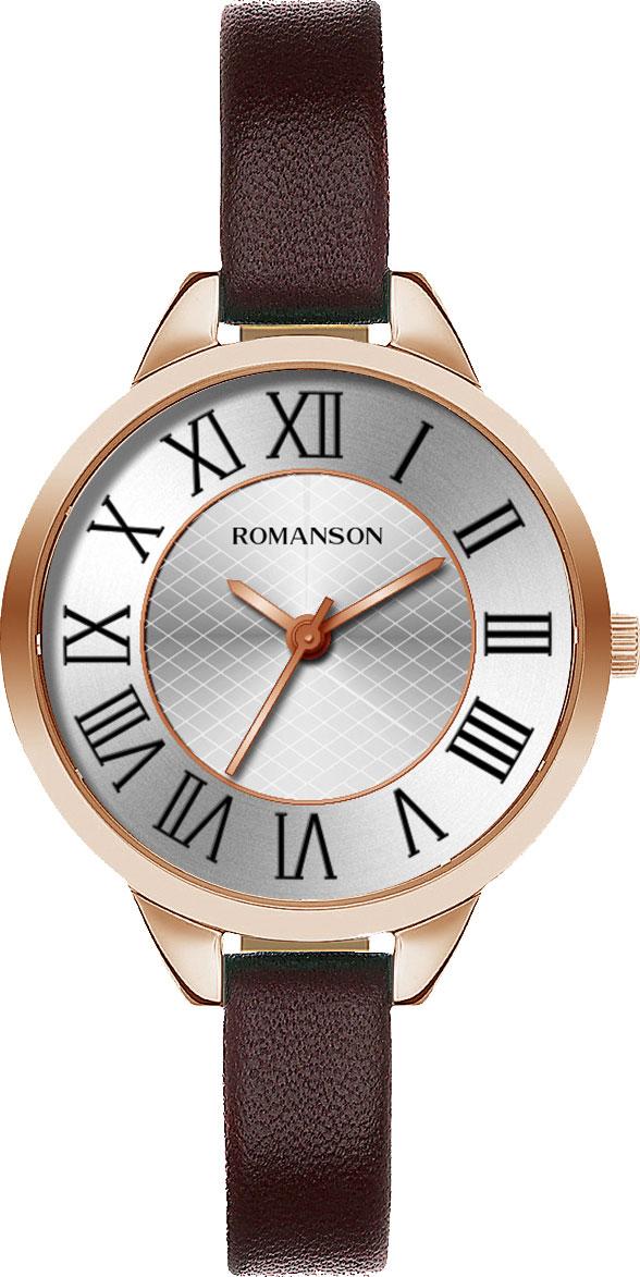 Женские часы Romanson RL0B05LLR(WH) цена 2017