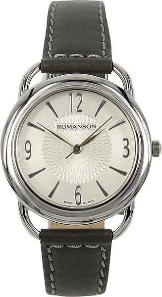 цена Женские часы Romanson RL1220LW(WH)GR онлайн в 2017 году