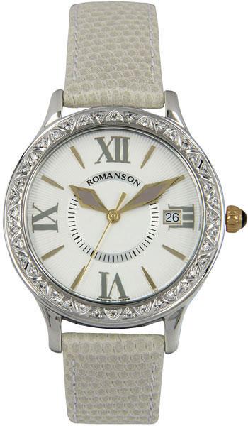 Женские часы Romanson RL1222QLC(WH)GR feifan feifan fp159 gr wh