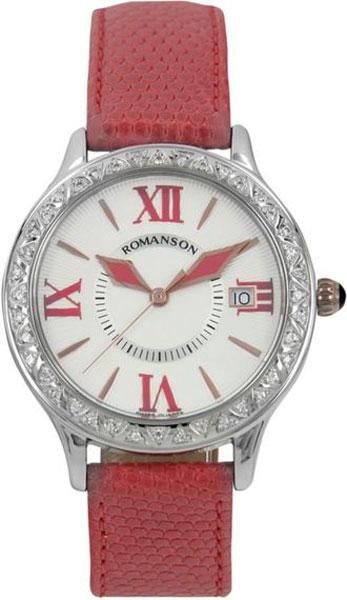 Женские часы Romanson RL1222QLJ(WH)PK
