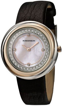 Женские часы Romanson RL1251QLJ(PINK) все цены