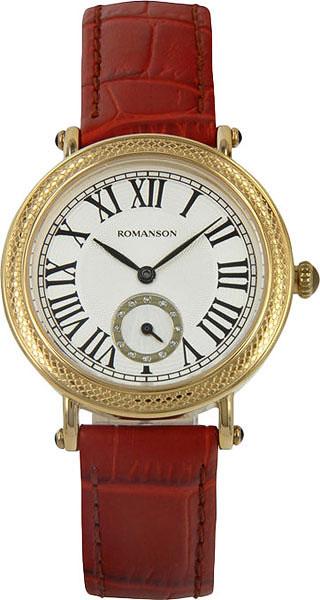 Женские часы Romanson RL1253BLG(WH)TAN romanson rl 1253b lg wh tan