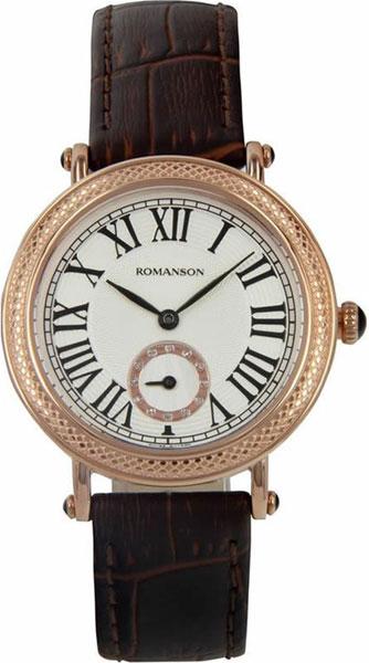 Женские часы Romanson RL1253BLR(WH)D.BN