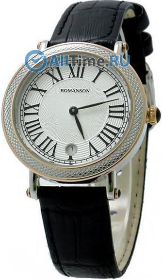 Женские часы Romanson RL1253LC(WH)BK romanson rn 0356 lc wh