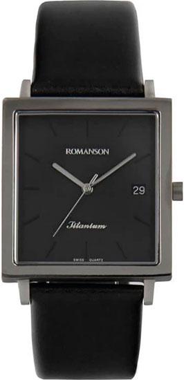 Мужские часы Romanson DL2133SMW(BK) наручные часы romanson dl2133smw bk