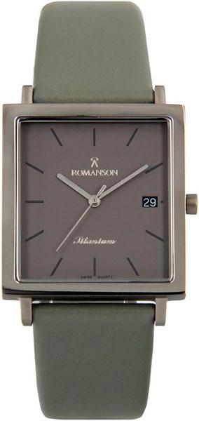 цена Мужские часы Romanson DL2133SMW(GR) онлайн в 2017 году