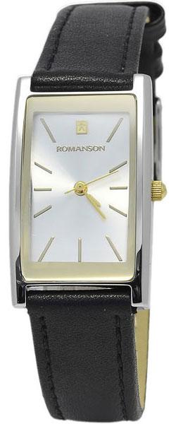 Женские часы Romanson DL2158CLC(WH) romanson tm 9248 mj wh