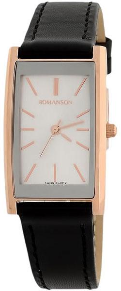 Женские часы Romanson DL2158CLR(WH) romanson часы romanson dl2158clc wh коллекция modish
