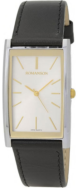 Мужские часы Romanson DL2158CMC(WH) romanson tm 9248 mj wh