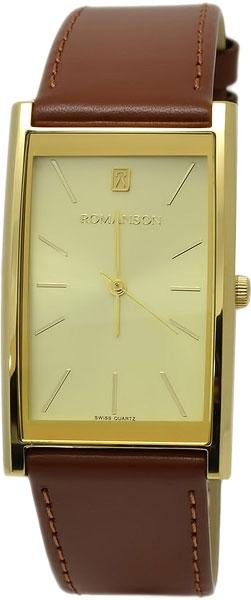 Купить Мужские Часы Romanson Dl2158Cmg(Gd)