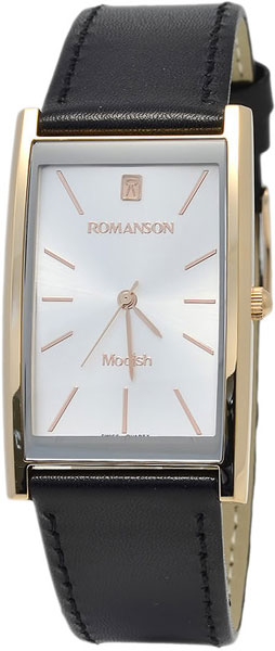Мужские часы Romanson DL2158CMR(WH) romanson часы romanson dl2158clc wh коллекция modish