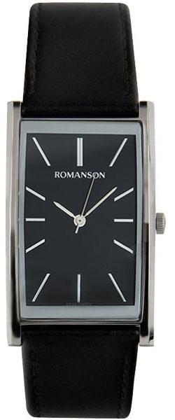 Мужские часы Romanson DL2158CMW(BK)