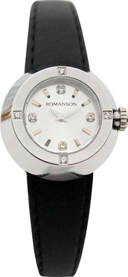 Женские часы Romanson RL2611QLW(WH)BK