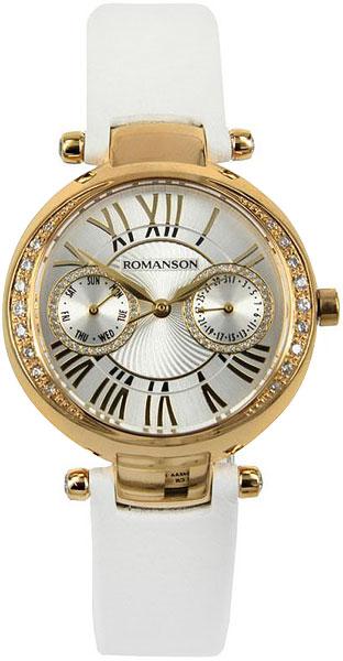 цена на Женские часы Romanson RL2612QLG(WH)WH