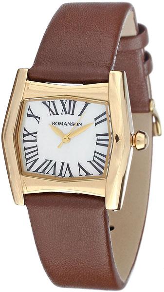Женские часы Romanson RL2623LG(WH) romanson rl 2623 lj wh cl