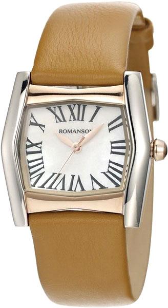 Женские часы Romanson RL2623LJ(WH)CL romanson cl 5a10 lr wn