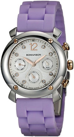 Женские часы Romanson RL2636FLJ(WH)