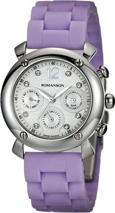 Женские часы в коллекции Giselle Женские часы Romanson RL2636FLW(WH) фото