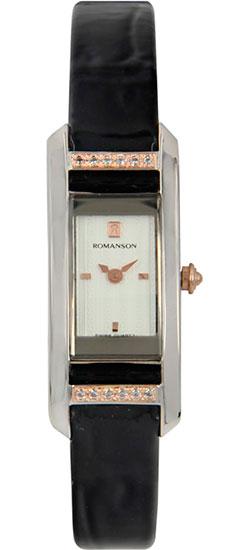 Женские часы Romanson RL2901QLJ(WH) romanson часы romanson rm5113qlg wh коллекция giselle