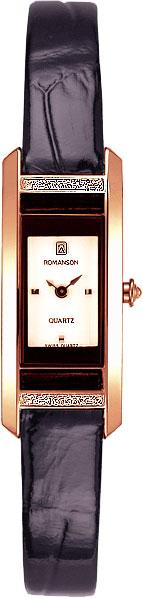 Женские часы Romanson RL2901QLR(WH) romanson часы romanson rm5113qlc wh коллекция giselle