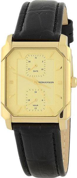 Мужские часы Romanson TL3142SMG(GD) romanson rm 9207q lj gd