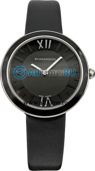Женские часы Romanson RL3239LW(BK)BK romanson rm 6a31l lw wh
